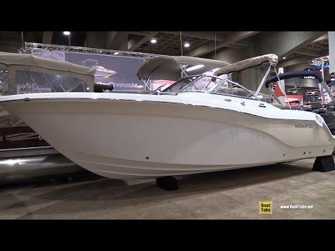 2016 Sea Fox 226 Traveller Motor Boat - Walkaround - 2016 Montreal Boat Show