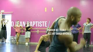 Fred Jean Baptiste parrain de Jazz Art Danse Hyères