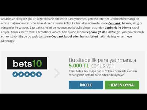 cepbank kabul eden bahis siteleri - Enfesbahis.com