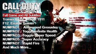 Call of Duty : Black Ops + Cheat Part.1 Sub.Indo