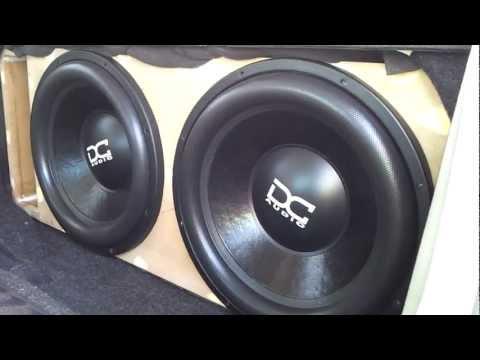 Dc Audio XL 15's 'BEATING MY CAR UP'