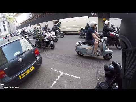 21 April 2018 - Central London Motorcycle Action Group's Protest Ride