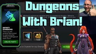 New Dungeons W/Brian Grant! Live! - Marvel Contest Of Champions