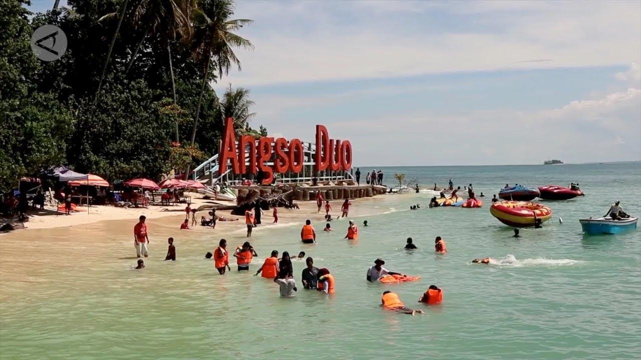 Pulau Angso Duo dikunjungi 6 6 wisatawan setiap hari