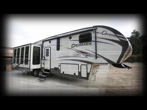 2015 Prime Time Manufacturing Crusader 321RES 5th Wheel Stock # 5181