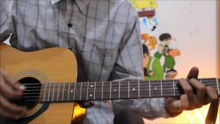 Baarish - Half Girlfriend - Guitar Cover Lesson Chords Easy BeGinners - SHRADDHA ,ARJUN