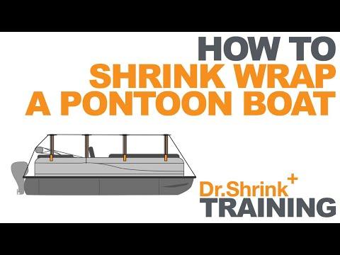 How to Shrink Wrap a Pontoon Boat // Dr. Shrink, Inc.