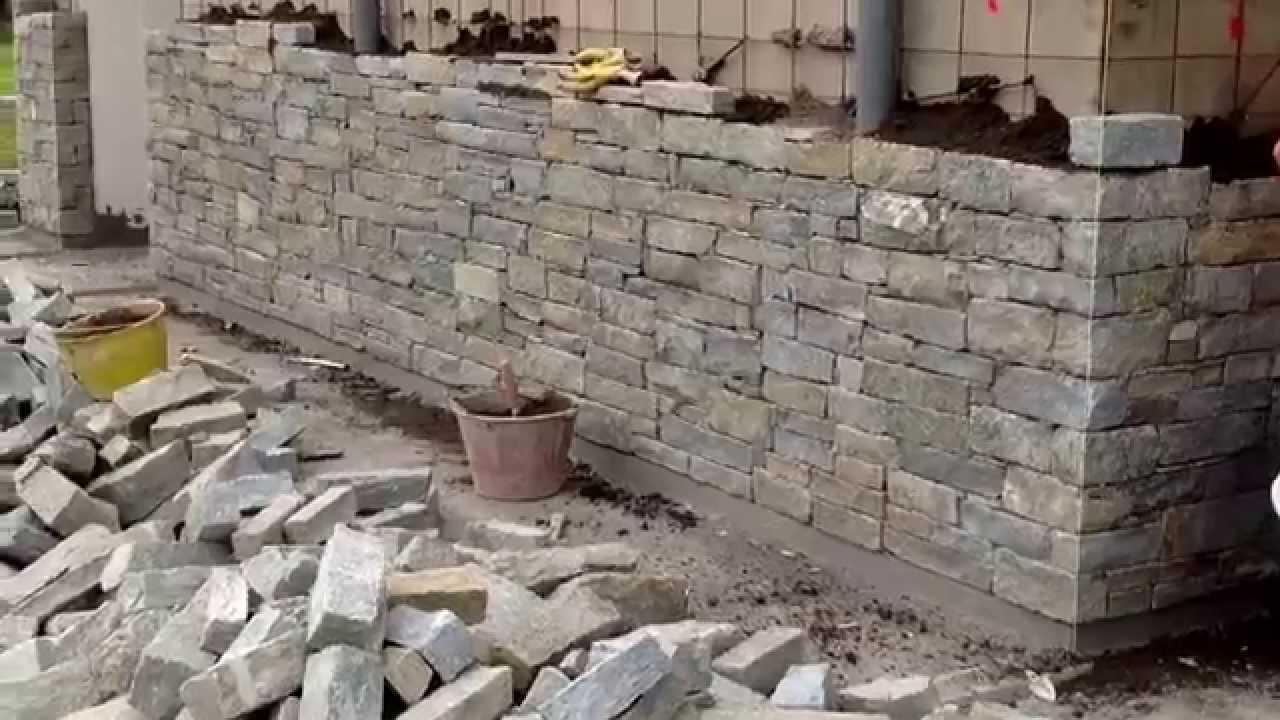 Pietra di luserna lavoro in corso villa singola lavori in for Costo per costruire pilastri di pietra