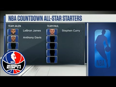 Jalen Rose picks Anthony Davis first in NBA All-Star mock draft | NBA Countdown | ESPN