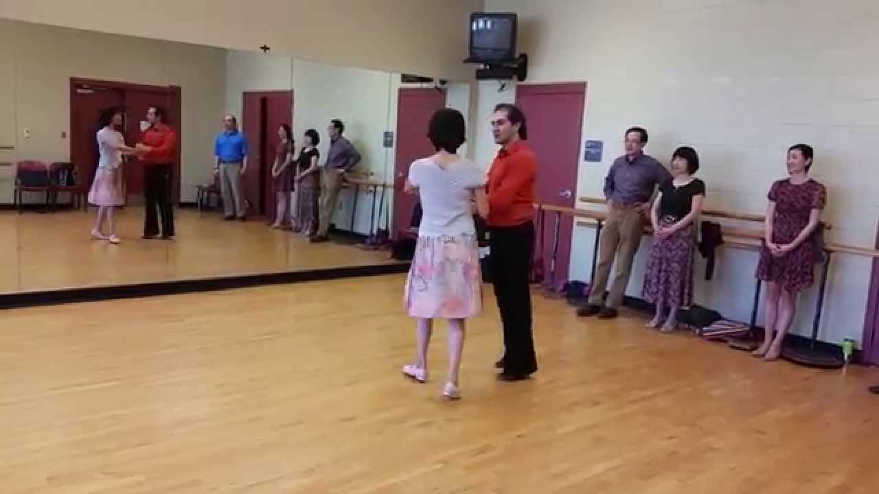 Waltz How To Dance Waterfall With Student Expert Arman Steps Diagram Sahakyan
