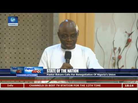 Pastor Bakare Says APC Government Failing Major Promises