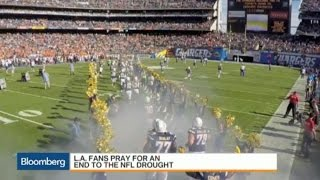 L.A. Fans Pray for an End to the NFL Drought