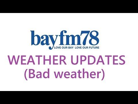 【悪天候バージョン】bayfm WEATHER UPDATES(Bad weather)【気象情報】