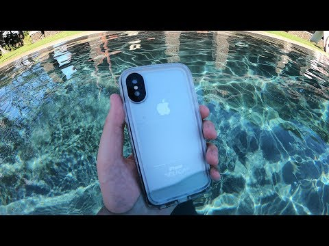 4293bf4f837f95 The BEST Waterproof iPhone X Case?? - YouTube