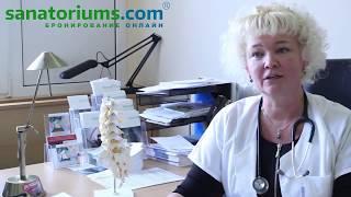видео Курорт Марианские Лазни - лечение и отдых - Восстановление суставов и позвоночника