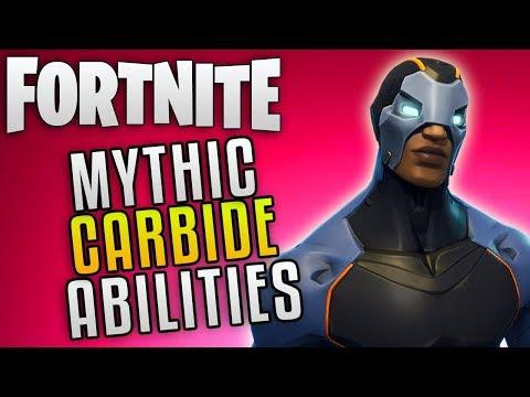 "Fortnite Save The World New Mythic Hero ""Fortnite Carbide Hero"" Fortnite Update 4.3 New Hero!"