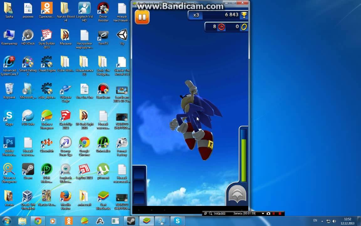 Скачать sonic dash на компьютер бесплатно