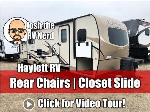 2019 Rockwood 2604WS Rear Chairs Ultralite Coupleu0027s Travel Trailer