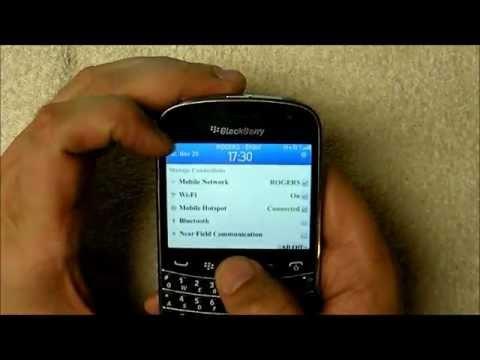 Mobile Hotspot on BlackBerry 7 1