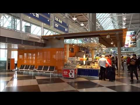 Munich Franz Josef Strauss International Airport from Terminal 2 to Terminal 1