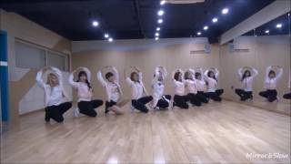 Mirrored and Slow 50 TWICE Cheer Up Dance Practice