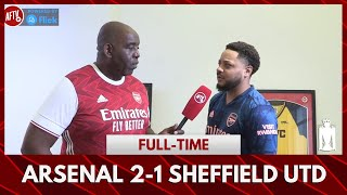 Arsenal 2-1 Sheffield United | Someone Is Lying To Us, And I Know Who! (Troopz)