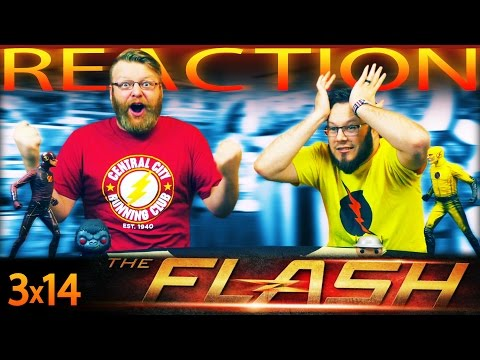 "The Flash 3x14 REACTION!! ""Attack on Central City"""