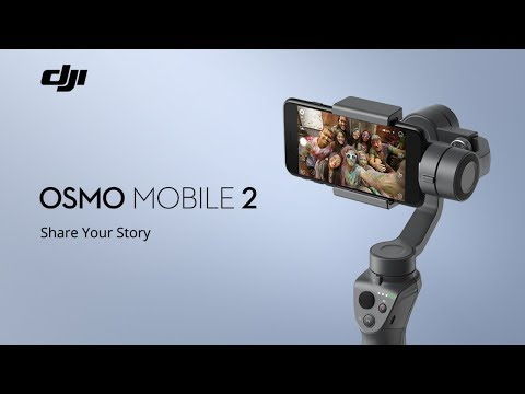 Dji Osmo Mobile 2 - Simple Review With Raw Footage Out of the Box - Samsung s9