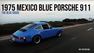 1975 Mexico Blue Porsche 911 - The Blue Goose - DER FASZINATION Official (2017)
