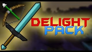 MINECRAFT PvP TEXTURE PACK DELIGHT FPS BOOST / LOW FIRE Resourcepack 1.7.X 1.8.X 1.9.X
