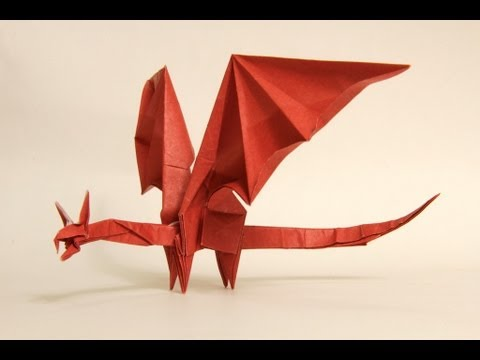 How To Make An Origami Simple Dragon Shuki Kato Youtube