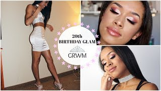 20th Birthday GRWM: Makeup & Outfit