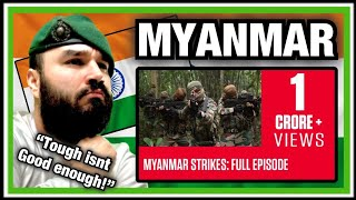 British Marine Reacts To Special Operations India 'Myanmar' Episode 1