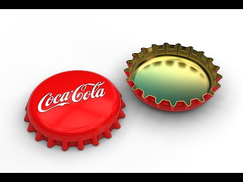 How to make a bottle cap in SolidWorks