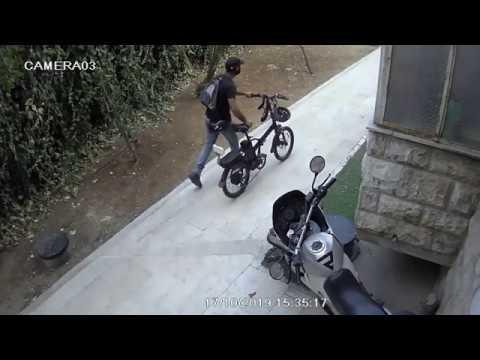תיעוד: הגנב תועד בשעת מעשה - המשטרה סגרה את התיק