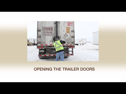 Injury Prevention Video Series: Episode 5 - Opening the Trailer Doors