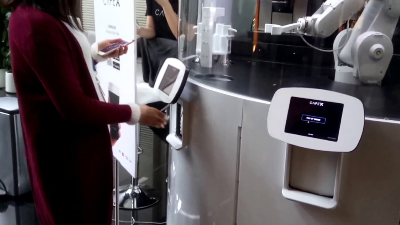 A Robot Barista Brews the Perfect Cup of Joe at Cafe X