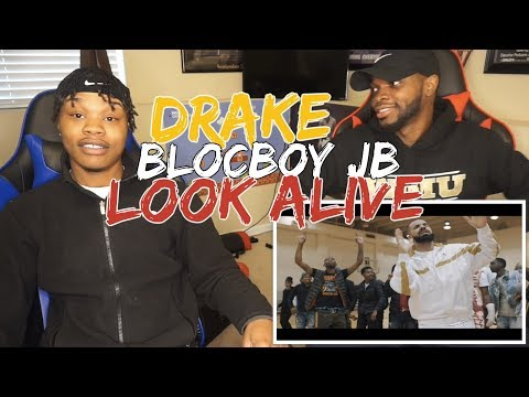 """BlocBoy JB & Drake """"Look Alive"""" Prod By: Tay Keith (Official Music Video) - REACTION"""