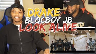 "BlocBoy JB & Drake ""Look Alive"" Prod By: Tay Keith (Official Music Video) - REACTION"
