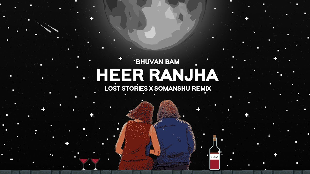 Heer Ranjha : Lost Stories & somanshu (Remix) | Bhuvan Bam | Official Visualiser