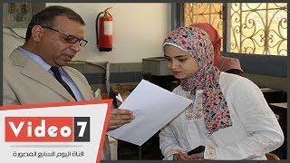 تفقد منذ قليل الدكتور محمد الديب أمين عام جامعة عين شمس المساعد،