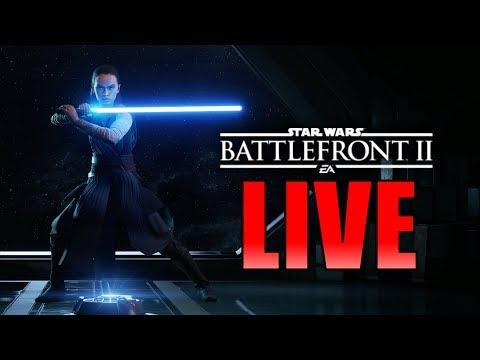 First Ever Live Stream!! (Finally) Star Wars Battlefront 2 Live Stream