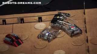 Wrestle Quad Battle Robots Look Like Insects But Foster STEM Education