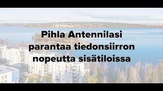Pihla Antennilasin kohdemittaus - Härmälä, Tampere