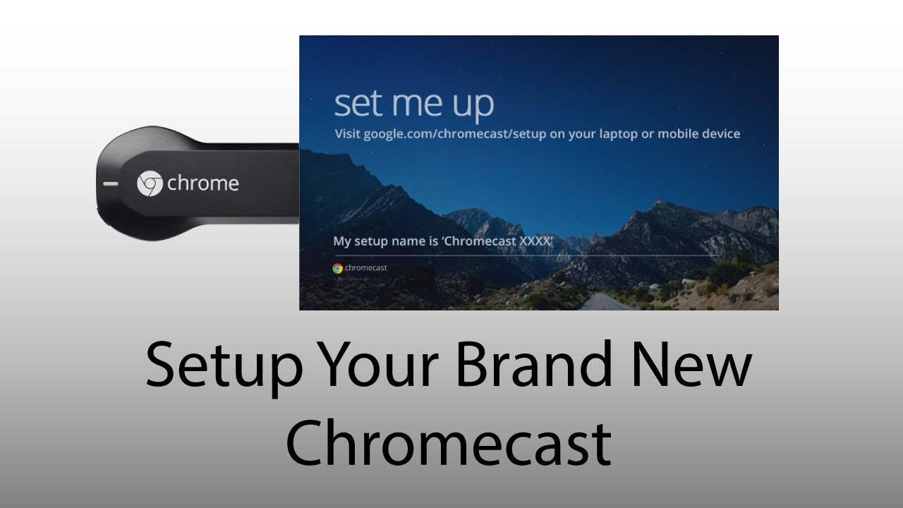 Set up your Chromecast device