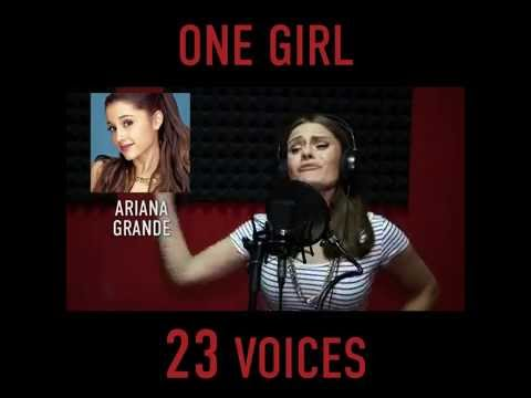 ONE GIRL 23 VOICES - Maryna - 23 cantanti in 3 minuti