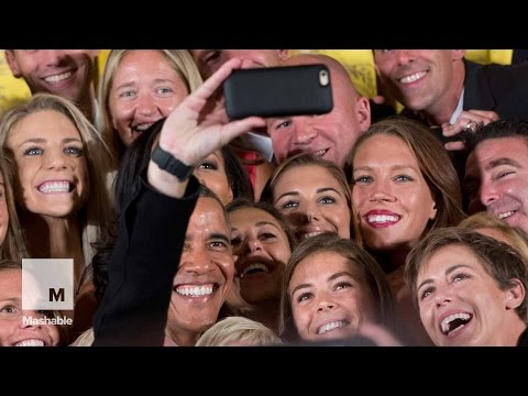President Obama Welcomes 'Badass' Women's Soccer Team to the White House | Mashable News