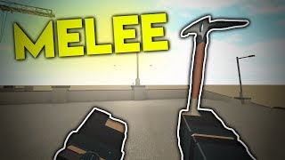 NEW MELEES.. (ROBLOX Phantom Forces)