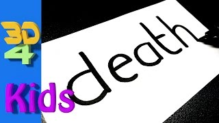Turn word into cartoon - Very Easy! DEATH wordtoon #41