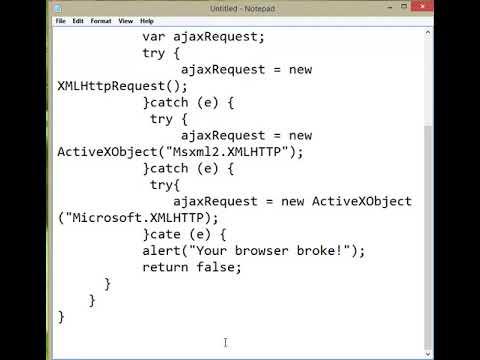 Client Side HTML file - Part I